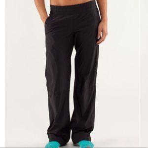 Lululemon Run: Dog Runner Pant Black Size 12